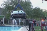 Video: Camaro ZL1 Takes a Wild Ride to the Bottom of a Pool