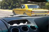 Video: See a Four Door Ford Falcon Destroy a Lambo In a Drag Race