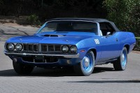 Ultra Collectable Hemi Cuda Convertible Featured at Mecum Seattle