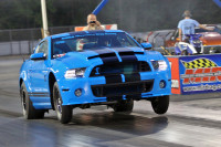 Video: BIRDDOC's Grabber Blue Shelby GT500 Breaks Six-Speed Record