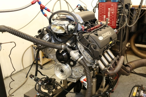 Carb'd Coyote Engine Project Goes Fuel Injected With AEM Infinity