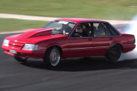Swap Insanity: Magnuson-Blown VK Holden Commodore is a Smoke Machine