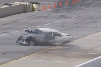 Chevy Tough Video: Drag Racing '55 Chevy Rolls 4-Times At PPIR