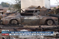 $2 Million Blaze Destroys Seventy Vintage Cadillacs And Classic Cars
