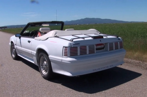 Video: Flowmaster Shows Off Legendary Fox Body Mustang GT System