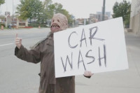 Video: A Haunted Car Wash Prank Brought To You By Ford