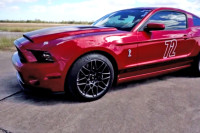 Video: How a 1,000+ HP Mustang GT500 Ran 217 MPH at the Texas Mile