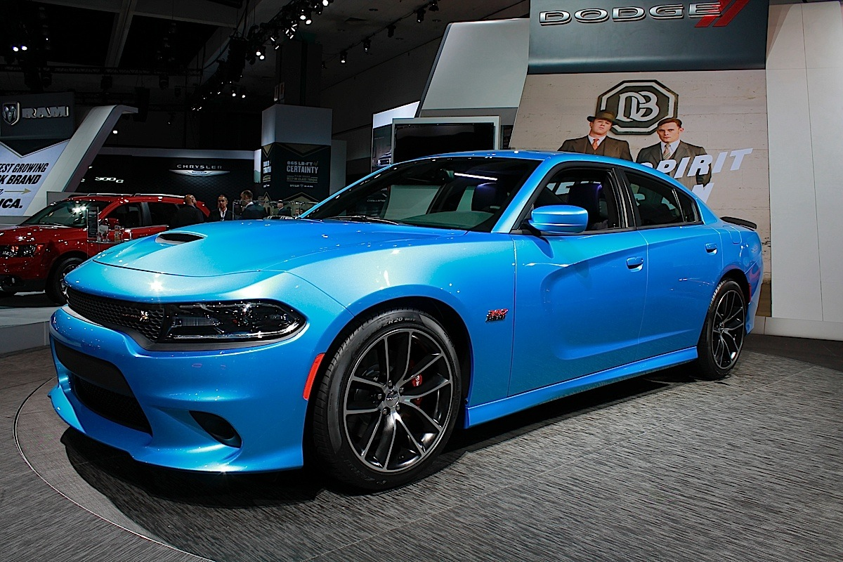 La Auto Show Live Dodge Brings Out Some Grownup Toys And