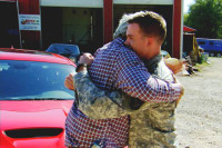 Video: Jay Leno Takes Wounded Vet For Life-Changing Ride In Hellcat