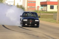 Video: A Wicked Twin Turbo S10 Shows Us A Proper Burnout