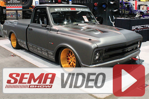 SEMA 2014: Spectre Performance Equipped Chevy C10 Hits The Autocross