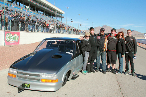 Video: Larry Larson Records First Five-Second Street Legal Run