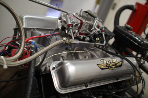 Video: Mike Curcio Race Products Builds, Dynos 427 FE Pump Gas Motor