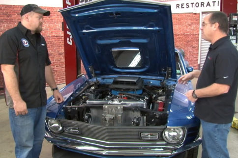 Video: CJ Pony Parts Installs Holley Terminator On Classic Mustang