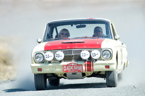Video: 1961 Ford Falcon Off-Road Rally Car