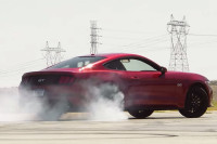 Video: Leno Burns Tires In A '15 GT To Say Thanks For 1-Million Subs