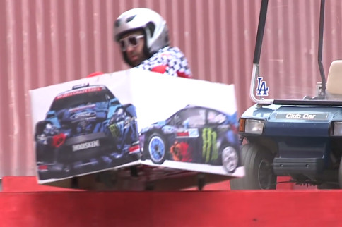 Video: Ken Box Part Deaux - Crazy Cart Drift