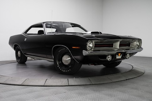 Video: Blacked Out 1970 Cuda For Sale At RK Motors For $259,900