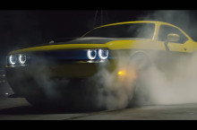 Video: Pennzoil Hoons a Challenger Hellcat Around Abandoned City