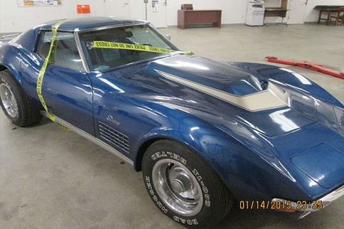 Video: Stolen 1972 Corvette Found After Forty Two Years