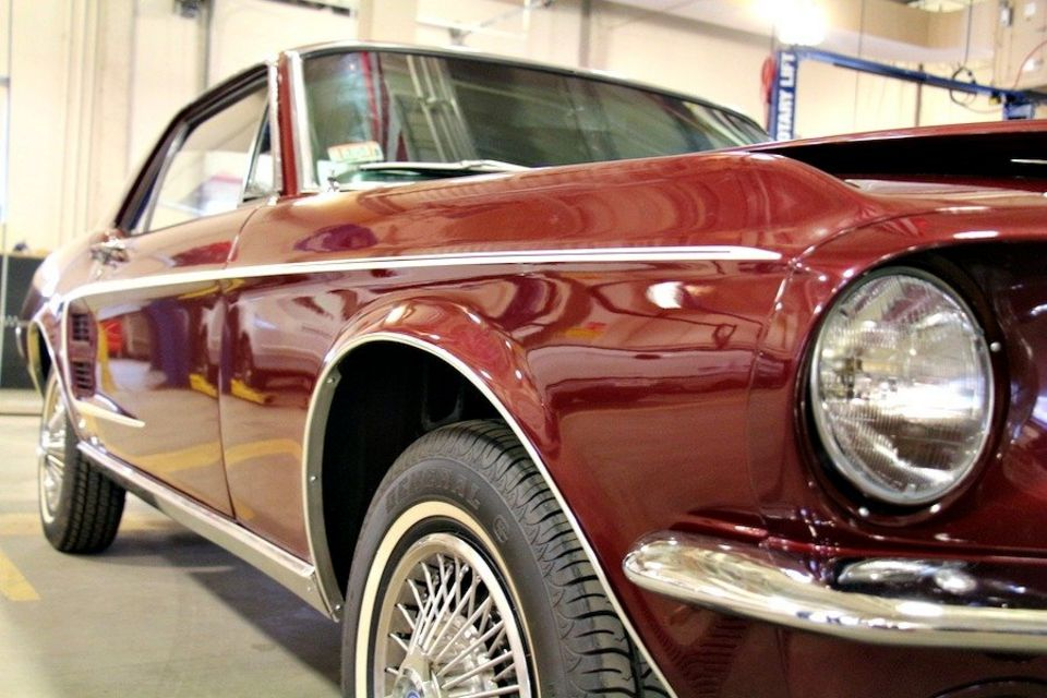 Students of Worcester Tech Highschool to raffle restored '67 Mustang