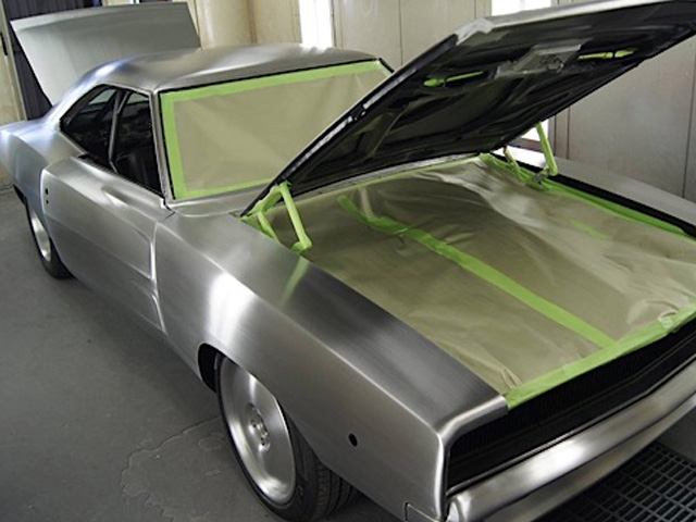 How To Paint Bare Metal Car Hood