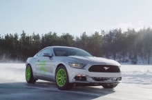 Ice Racing: Vaughn Gittin Jr Takes To The Cold Stuff  In A EcoBoost