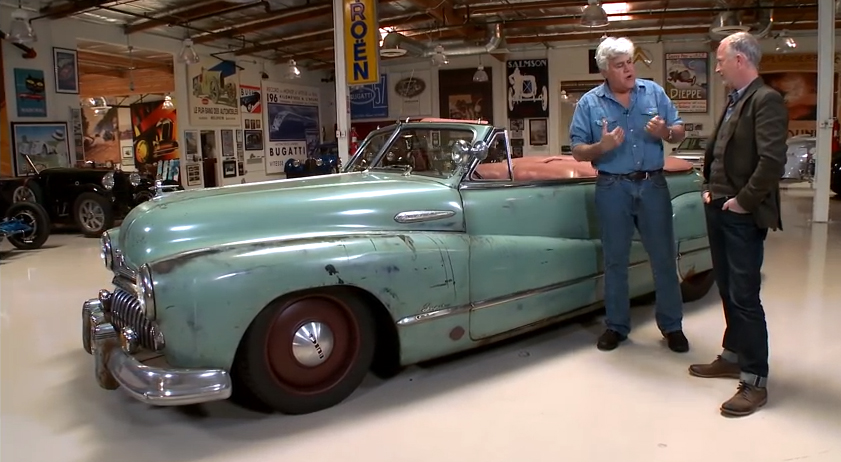 Video: Jay Leno Drives The '48 Buick Known As Derelict