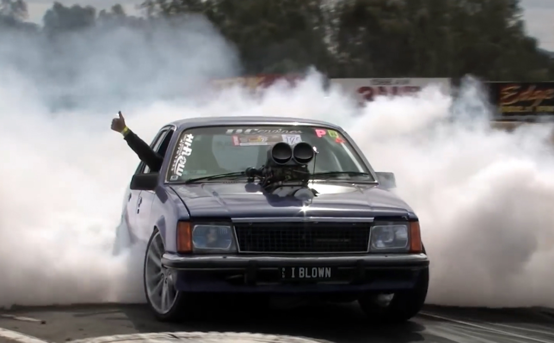 Video: Aussies Show How To Do A Proper Burnout In A Blown Commodore