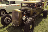 Video: Holley-Equipped Model A Sedan Was Transformed Into A Coupe