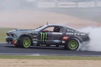 Video: Vaughn Gittin Jr. Accelerates Around Atlanta