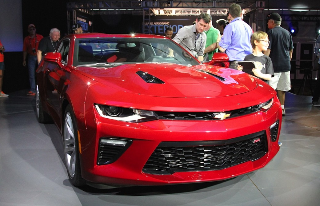 FIRST LOOK: 2016 Camaro Officially Revealed - Familiar, Yet All New
