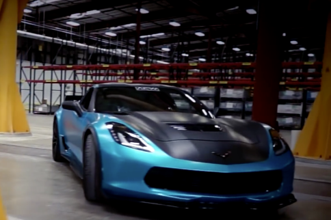 Video: Late Model Racecraft Puts Down 1,000 HP With a C7 Z06