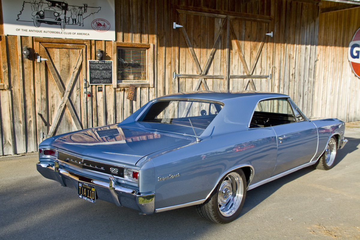 Brian Wilson\'s Dream Car: Numbers-Matching 1966 Chevelle SS ...
