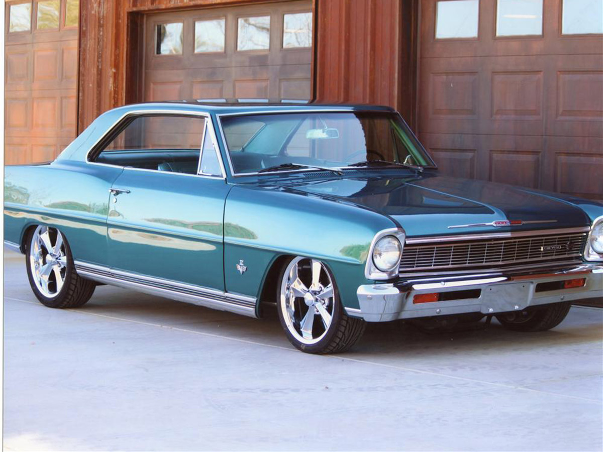 chevy nova the car that almost didn t go street muscle. Black Bedroom Furniture Sets. Home Design Ideas