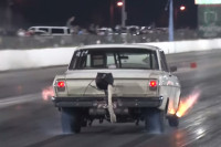 Video: The Crusty Nova Takes On 1,100 Horsepower GT-R In Roll Race
