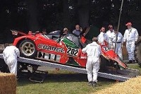 Video: Mazda 767B Racecar Eats It At Goodwood Festival of Speed 2015