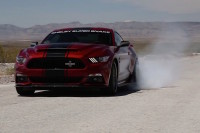 Video: Shelby Throws Around 2015 Super Snake On A Closed Track