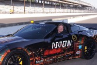 Paralyzed Racer Drives Corvette Using Just His Head