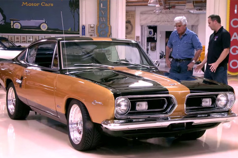 Video: Jay Leno Takes A Spin In A 1967 Hurst Barracuda