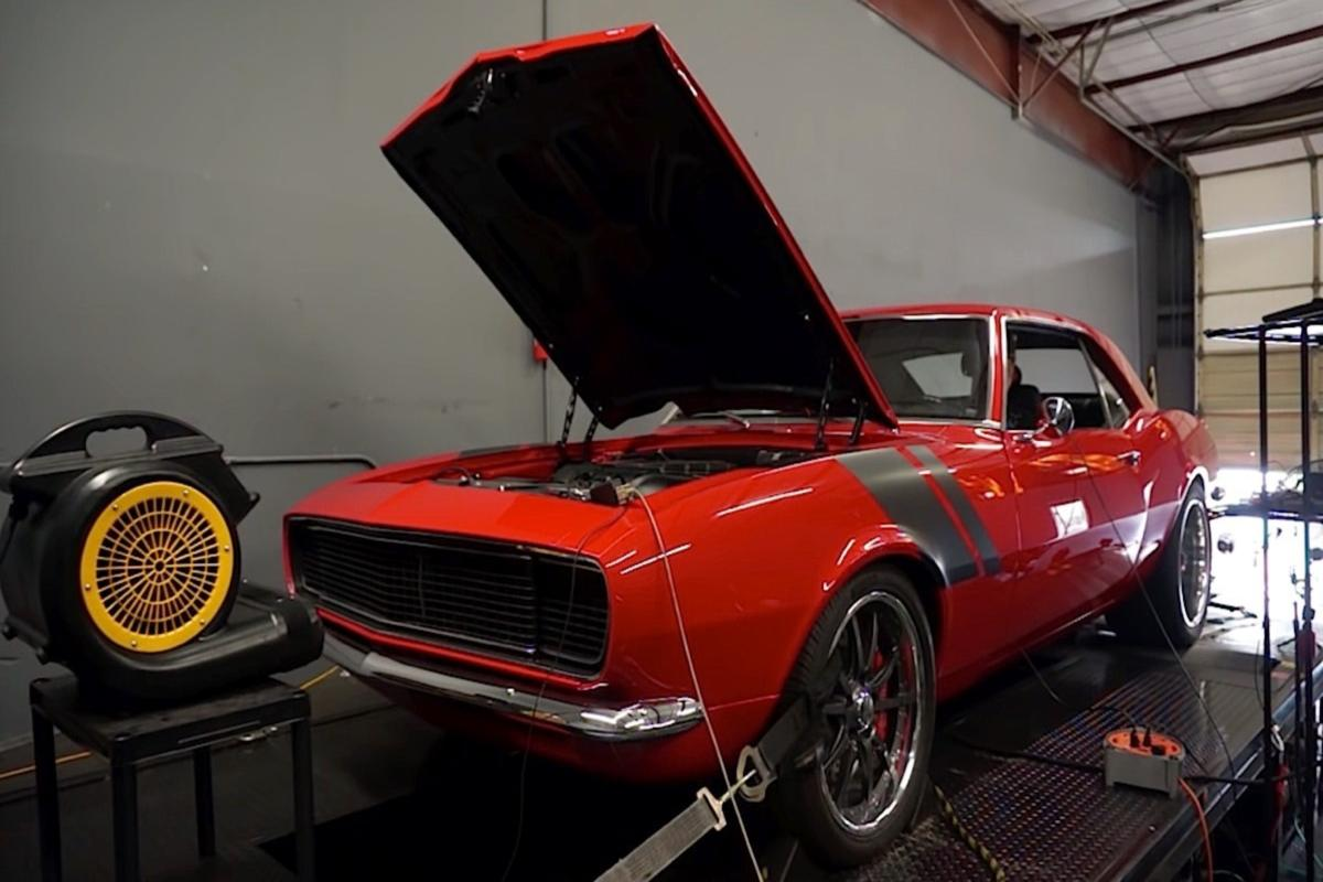 Video 1968 Supercharged Ls3 Powered Camaro On Dyno Puts