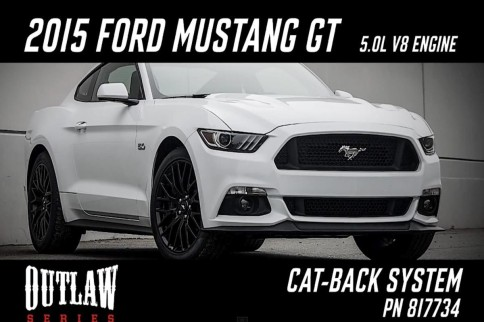 Video: Flowmaster Outlaw Series Cat-Back Exhaust For 2015 Mustang GT