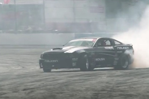 Video: Weld Racing Wheels Survive Massive Contact In Formula Drift