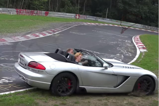 Video: Second-Gen Viper Takes A Hard Hit At The Nurburgring