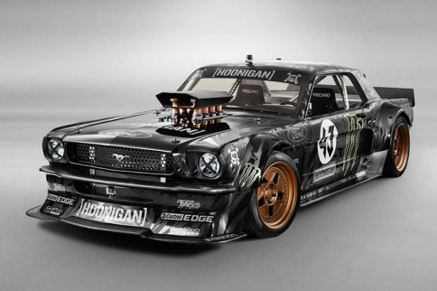 Video: Ken Block Tears Around Silverstone in the 845hp Hoonicorn