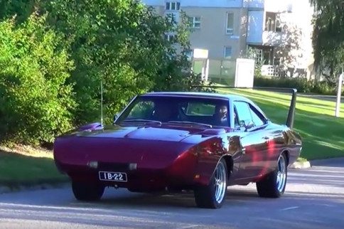 Video: Sweet 1969 Dodge Charger Daytona Turns Some Heads In Finland