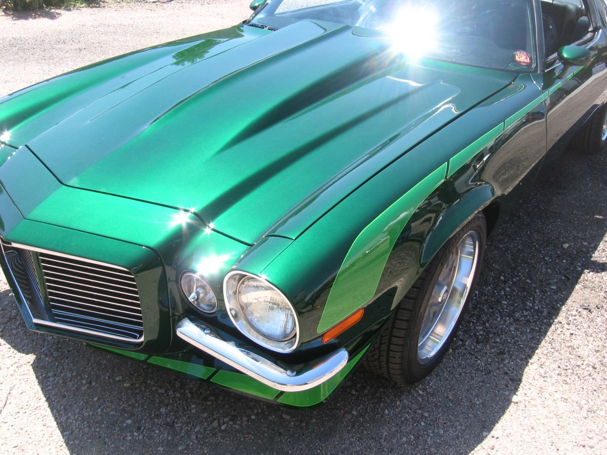 28 Different Colors Of Green Paint For Cars