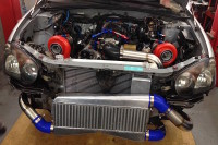 Video: Twin Turbo LS1 Swapped Wide Body Subaru WRX Wagon
