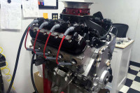 Video: This High HP LS3 Uses Custom 4bbl Drive By Wire EFI