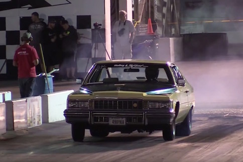 Video: 400,000 Mile LS Swapped Cadillac Coupe de Ville On Nitrous
